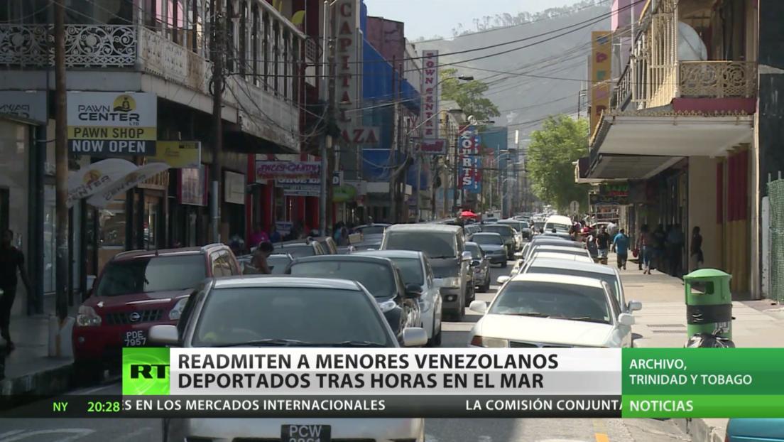 Trinidad y Tobago readmite a 16 menores venezolanos deportados tras pasar horas en el mar