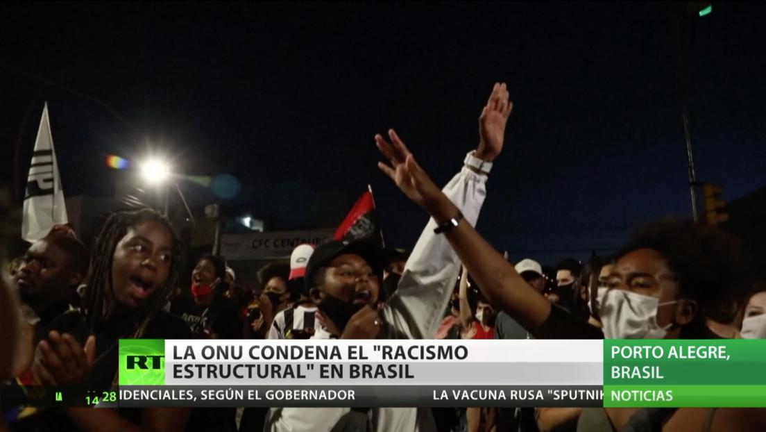 """La ONU condena el """"racismo estructural"""" en Brasil tras el asesinato de un afrobrasileño"""