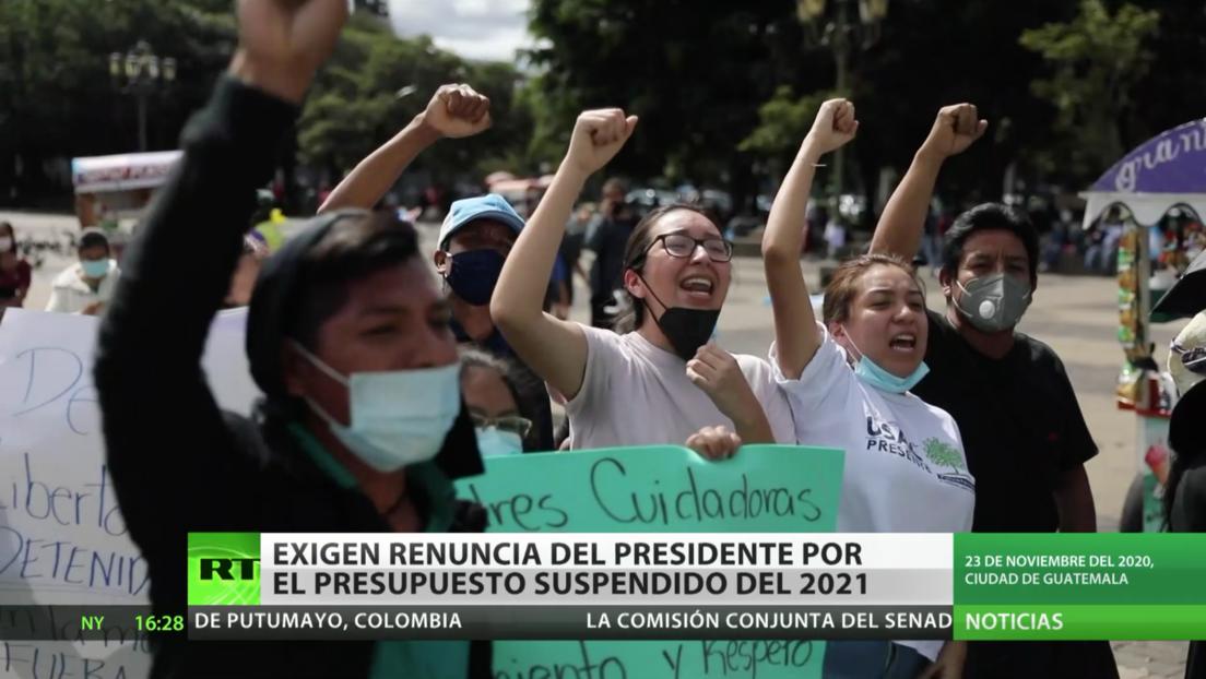 Guatemala: Siguen las protestas contra el presidente por el presupuesto suspendido de 2021