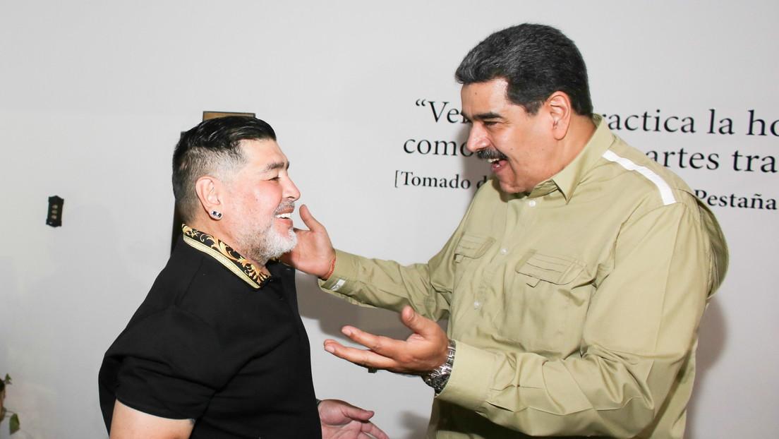 """Maduro despide a Maradona como """"un hermano y amigo incondicional de Venezuela"""""""