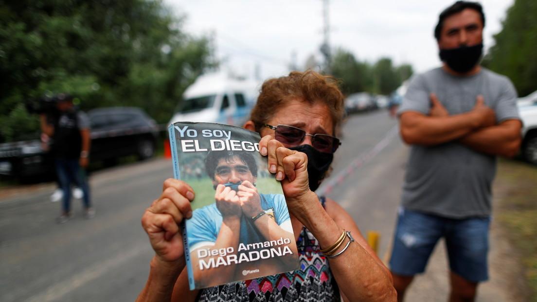 Incredulidad, dolor y llanto: Argentina entra en shock por la muerte de Maradona