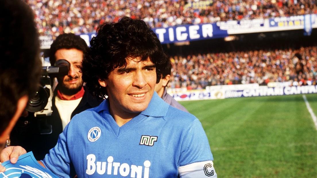 VIDEO: Maradona y la sesión de calentamiento más espectacular de la historia