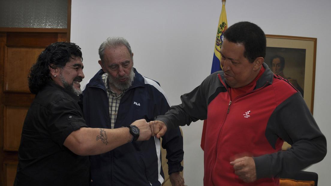 Peronista, amigo de Fidel Castro y admirador del 'Che' Guevara: Los vínculos de Maradona con el lado zurdo de la política