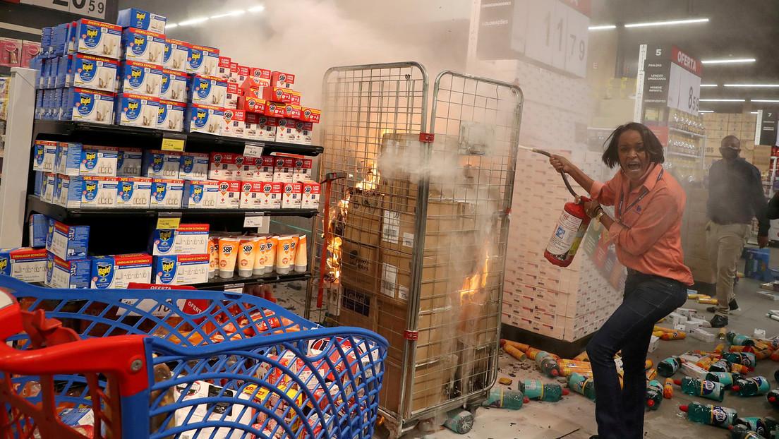 Un estado brasileño demanda a Carrefour después de que un hombre negro falleciera por la golpiza de agentes de seguridad en una de sus tiendas
