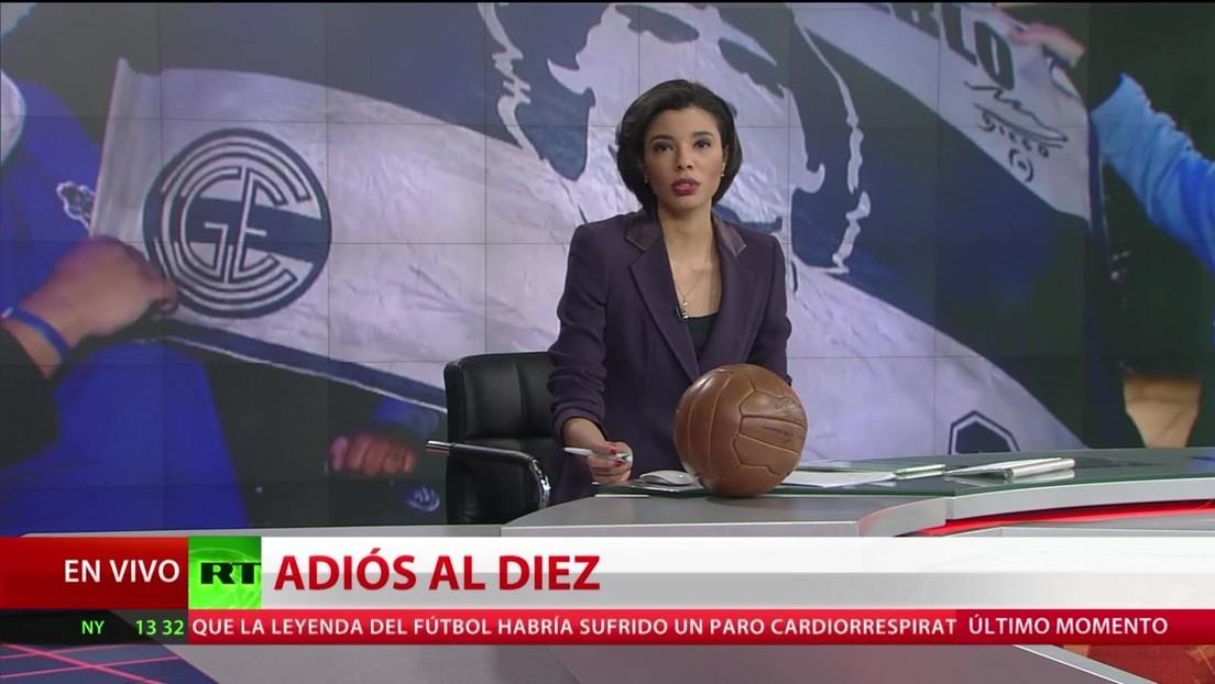 Lágrimas y conmoción: El mundo se despide de Diego Maradona