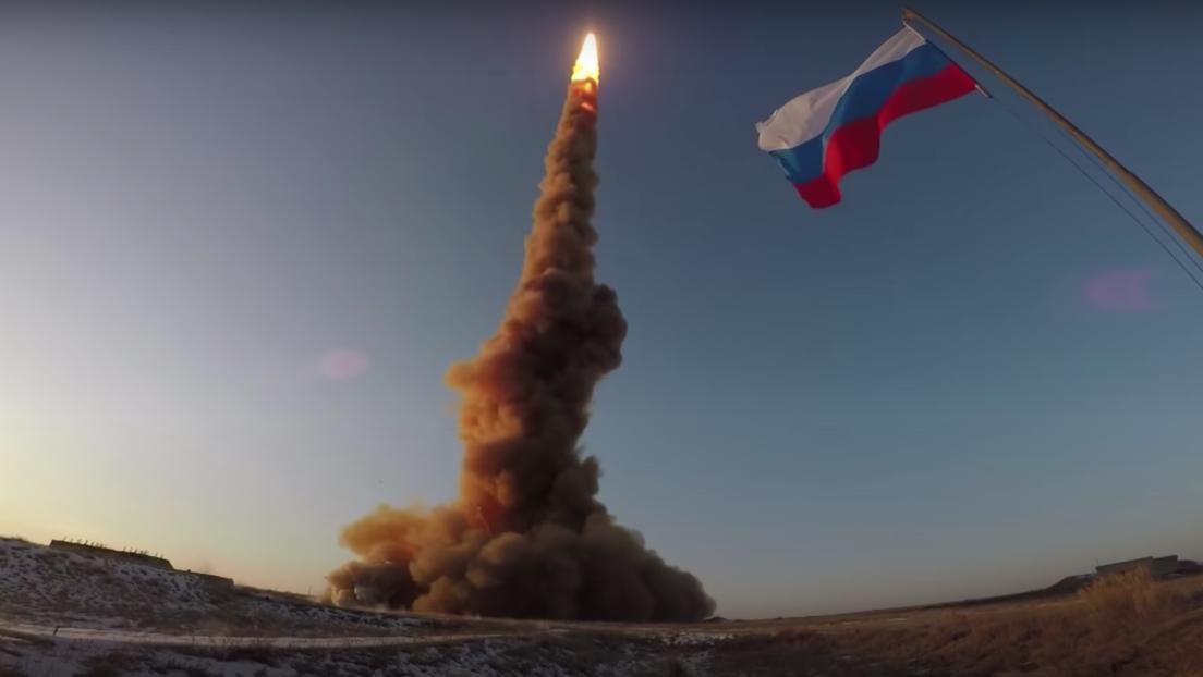 VIDEO: Rusia muestra una prueba de su nuevo misil antibalístico