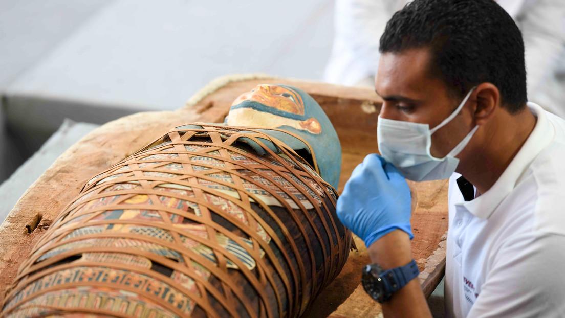 Combinan por primera vez tomografías computarizadas y rayos X para estudiar el interior de una momia de 1.900 años