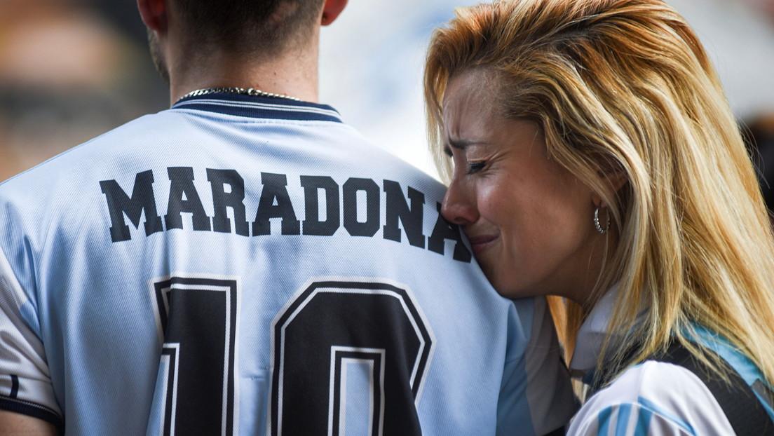 VIDEO: La despedida a Diego Maradona en Buenos Aires