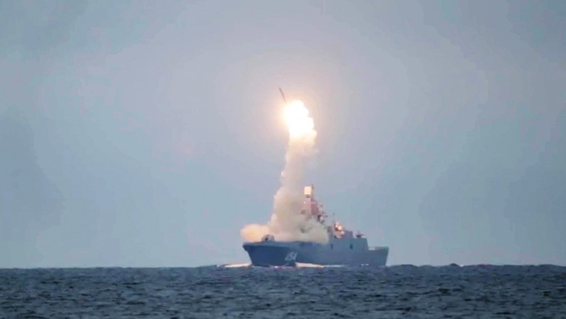 Rusia acierta un blanco a 450 km con un misil hipersónico Tsirkón en el mar de Barents