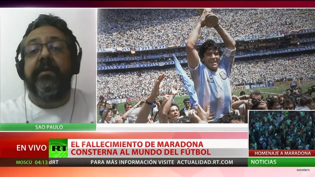"""Diego era una figura mística del fútbol mundial"""