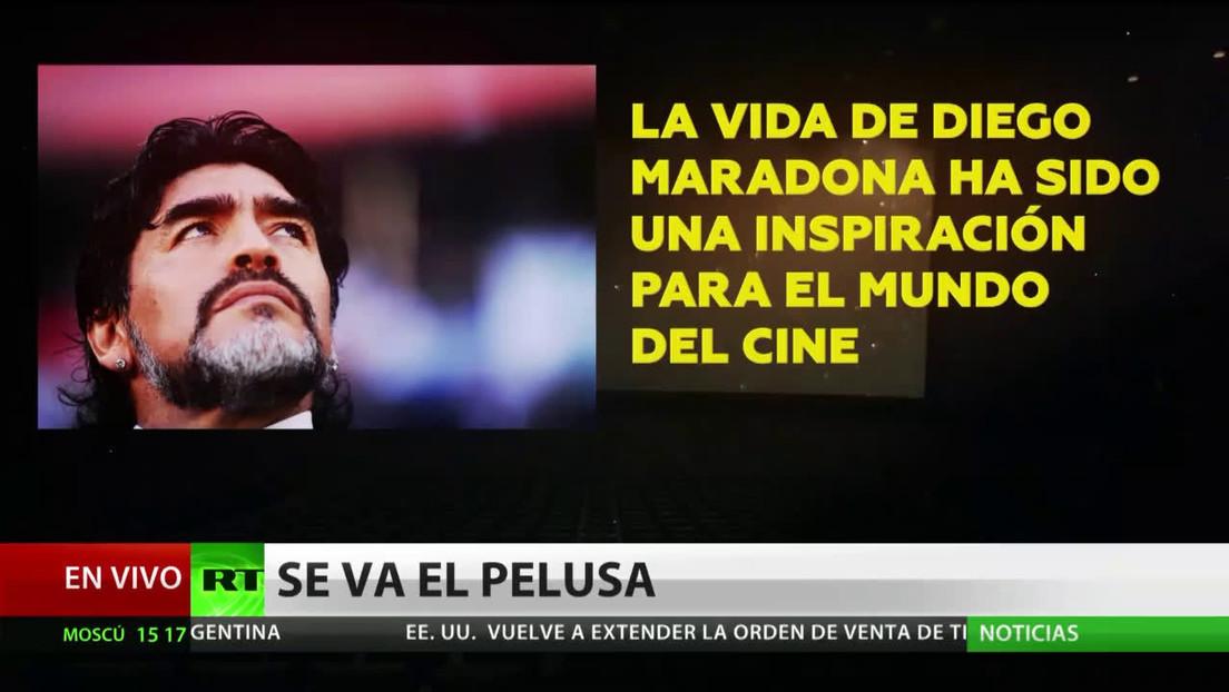 Maradona encandiló al mundo del cine, que retrató sus éxitos y sus penas