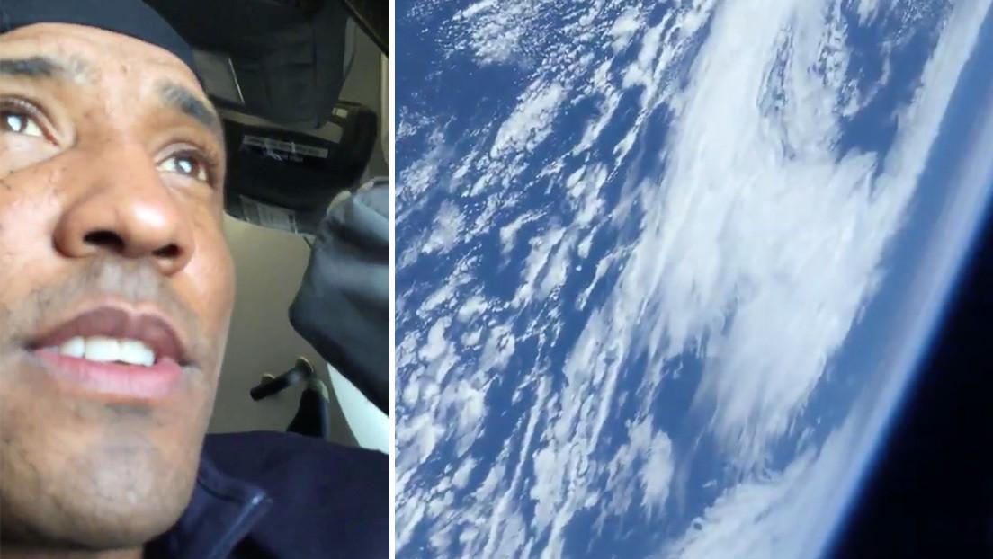"""""""Una perspectiva vertiginosa"""": un astronauta publica un video de la Tierra desde una cápsula de SpaceX (VIDEO)"""