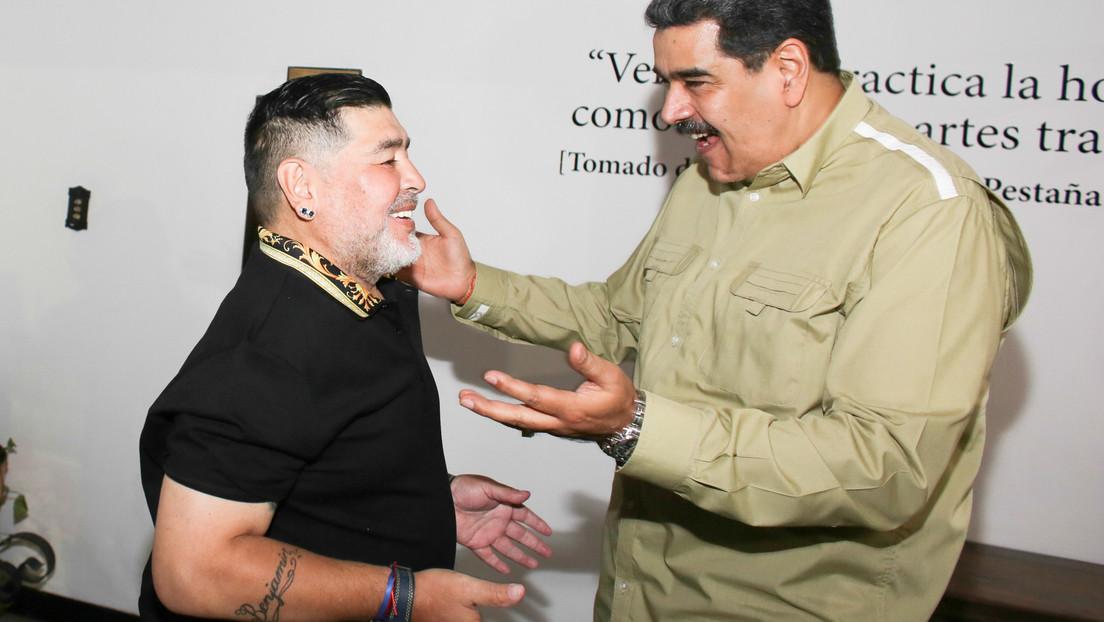 Maduro comparte en redes 'El parto', un texto de Galeano que recuerda el nacimiento de Maradona