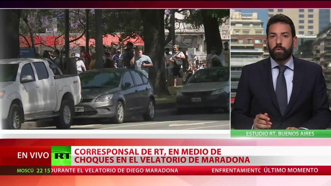 El mundo rinde homenaje a Maradona y se despide de fulbolista en Buenos Aires
