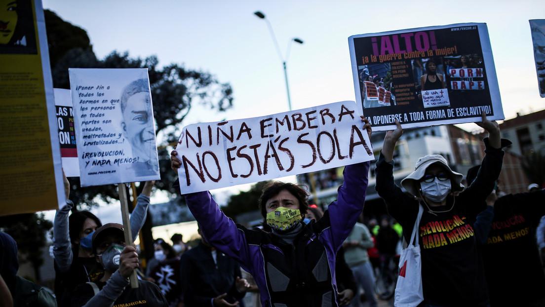 Destituyen e inhabilitan por 20 años a los soldados que violaron a una niña indígena emberá en Colombia