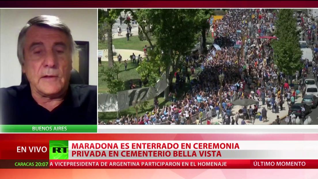 """Exfutbolista Hugo Tocalli sobre Maradona: """"Se fue el ídolo más grande de nuestro país, del mundo"""""""