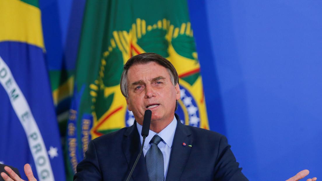 Bolsonaro asegura que no se vacunará contra el covid-19 y pone en duda la eficacia de las mascarillas
