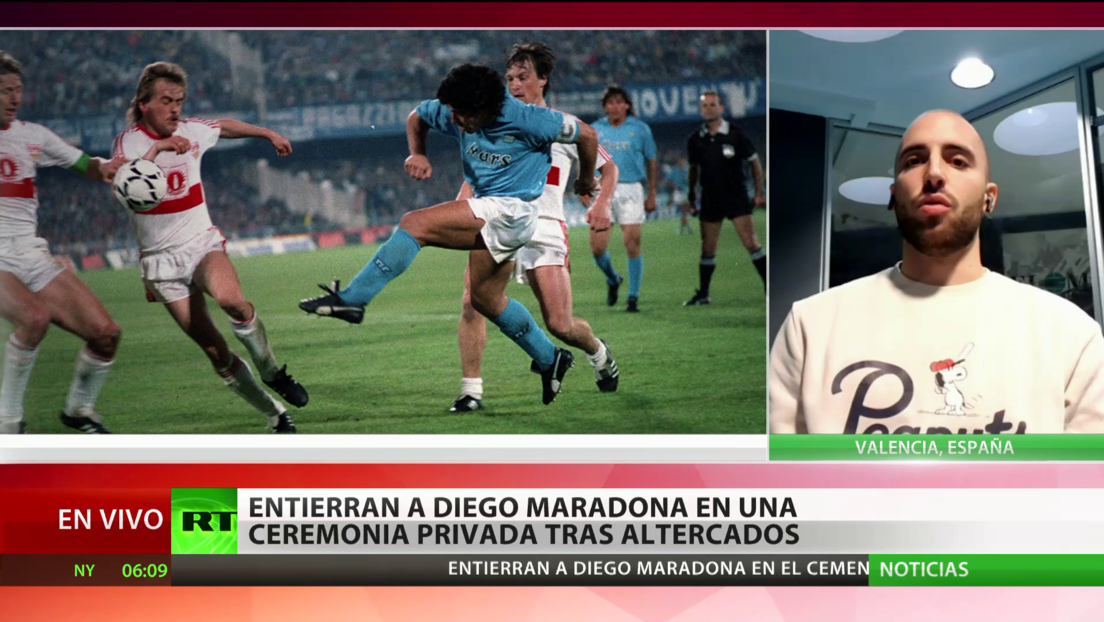 Periodista deportivo: Maradona seguirá siendo un referente para todos durante muchos años