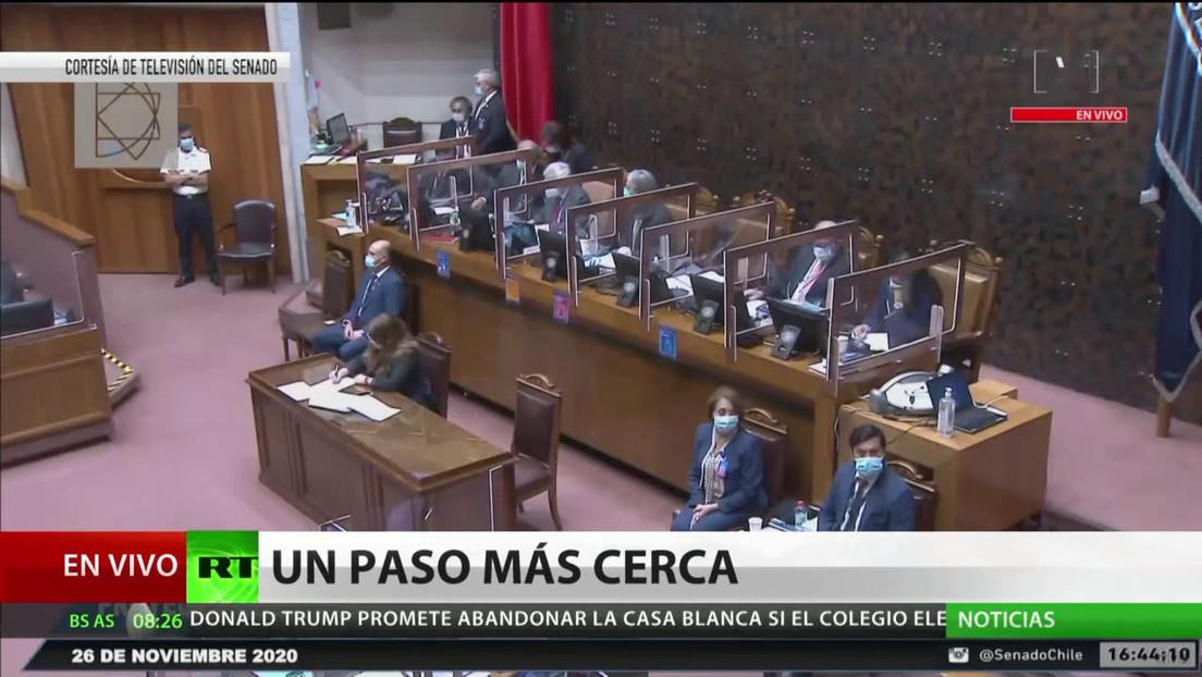 La Cámara Baja de Chile revisará el retiro del 10 % del fondo de pensiones