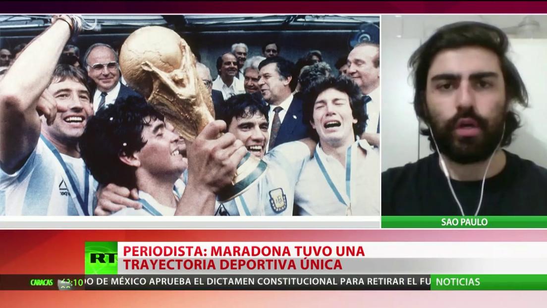 """""""Maradona tuvo una trayectoria deportiva única"""""""