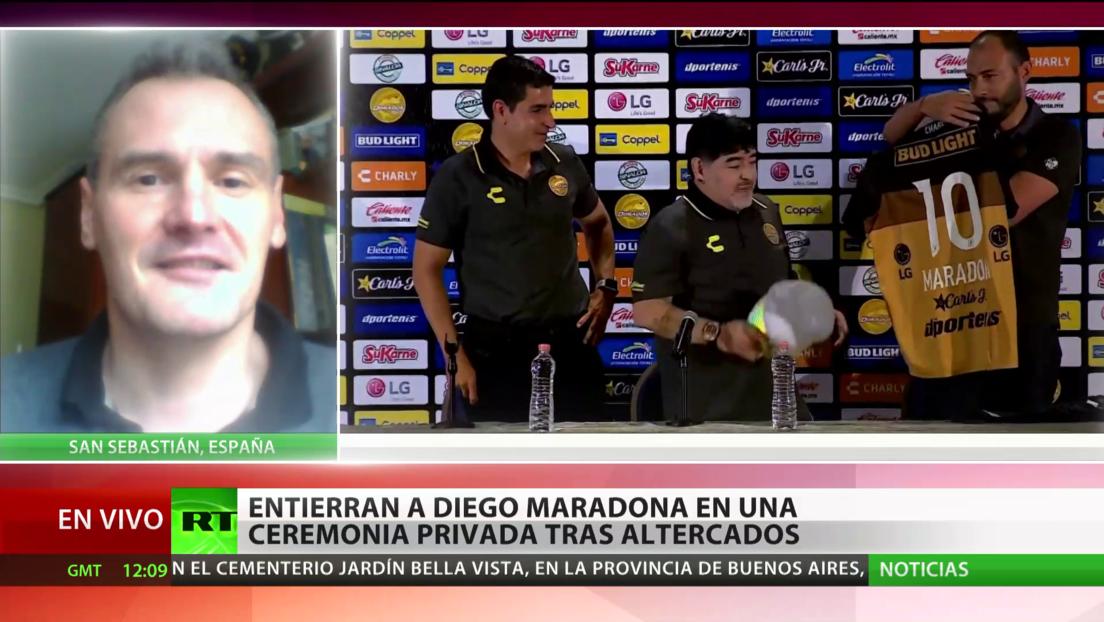 """Periodista deportivo sobre Maradona: """"Es parte de la cultura popular y eso solo lo consiguen los grandes"""""""
