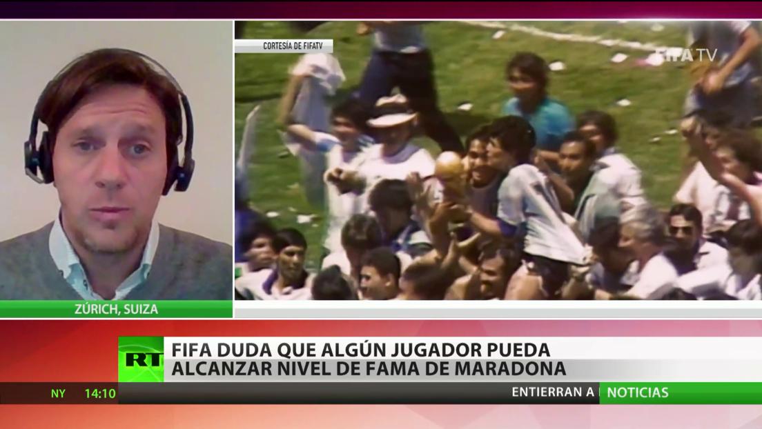 La FIFA duda de que algún jugador pueda alcanzar el nivel de fama de Maradona