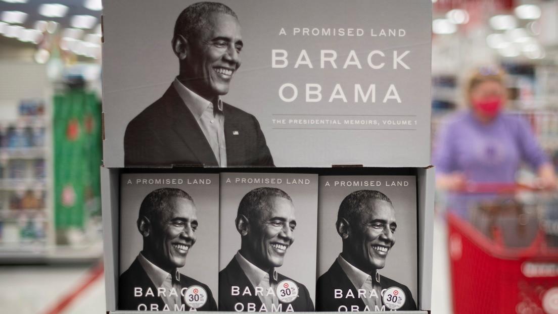 Las memorias de Barack Obama baten un récord de ventas en su primera semana de publicación