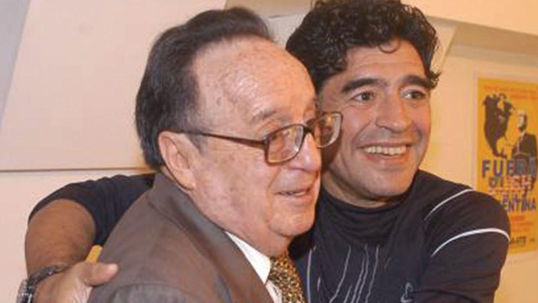 VIDEO: El día que Maradona se emocionó al conocer a uno de sus mayores ídolos, Chespirito