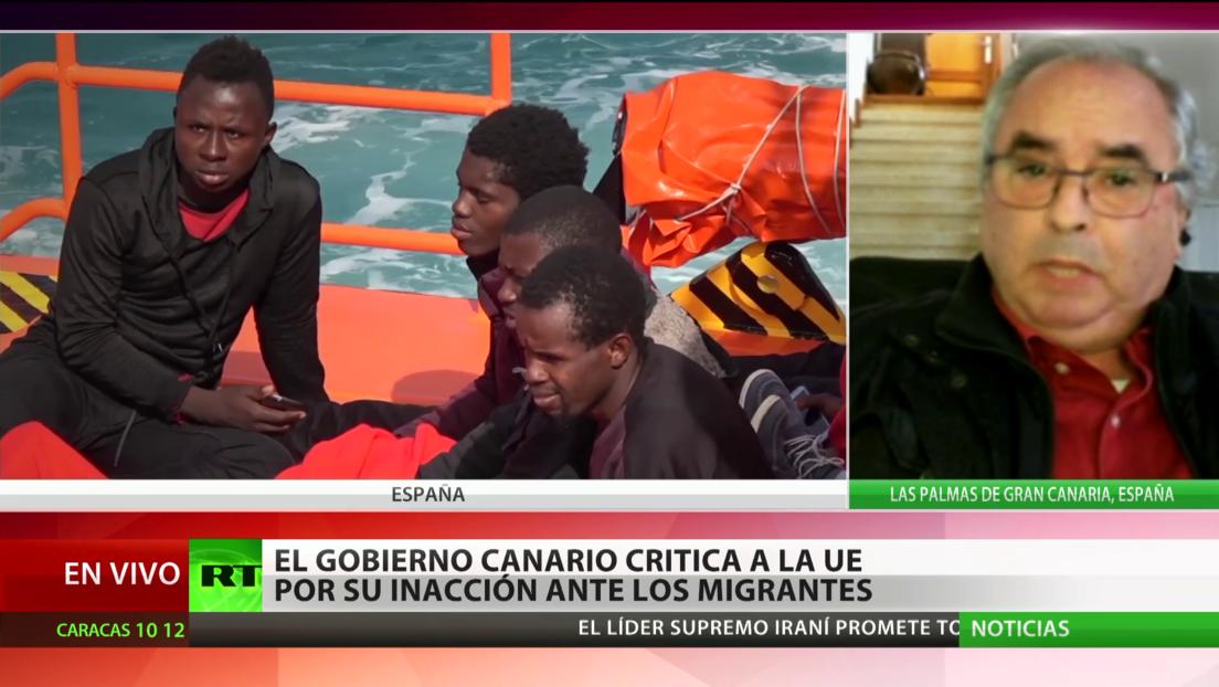 España: Islas Canarias critica a la Unión Europea por su inacción ante la crisis migratoria