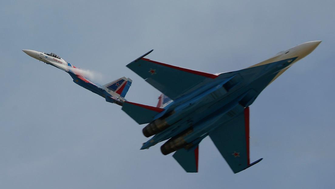 """Experto estadounidense explica por qué el caza polivalente ruso Su-35 es un """"asesino"""""""
