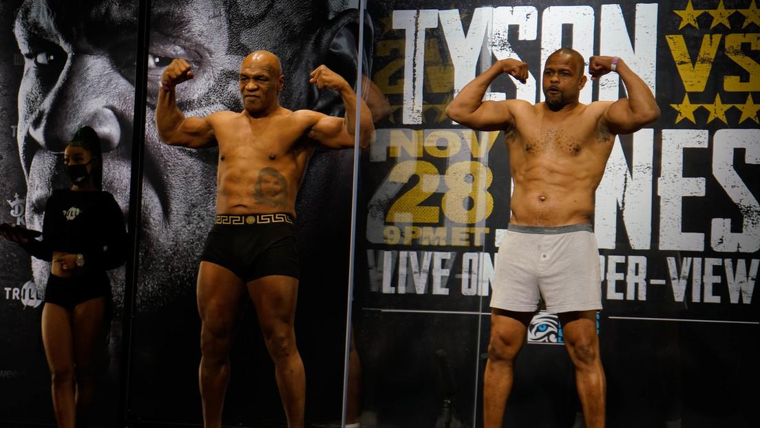 Encuentro entre dos leyendas: Mike Tyson vuelve al 'ring' y empata contra Roy Jones Jr.