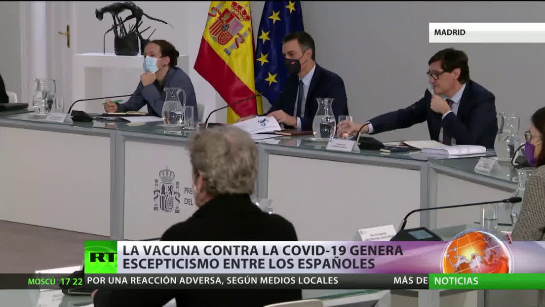 La vacuna contra el covid-19 genera escepticismo entre los españoles