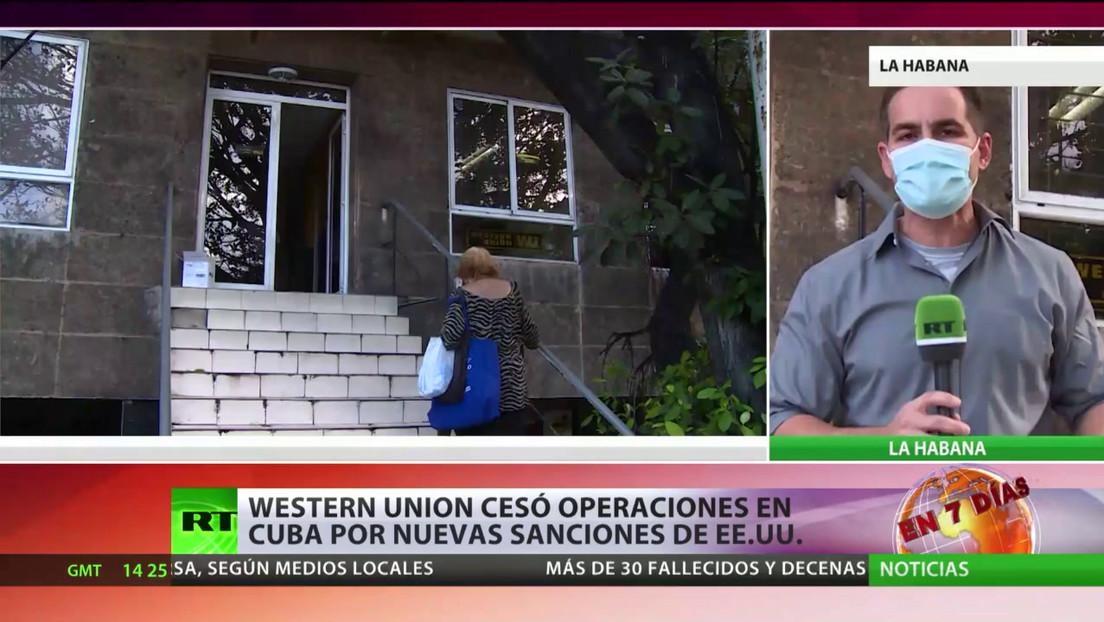 Western Union cesó operaciones en Cuba por sanciones de EE.UU.