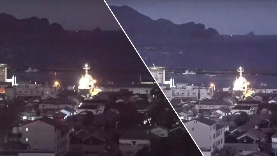 """Captan una bola de fuego """"tan brillante como la luna llena"""" en el cielo de Japón (VIDEO)"""