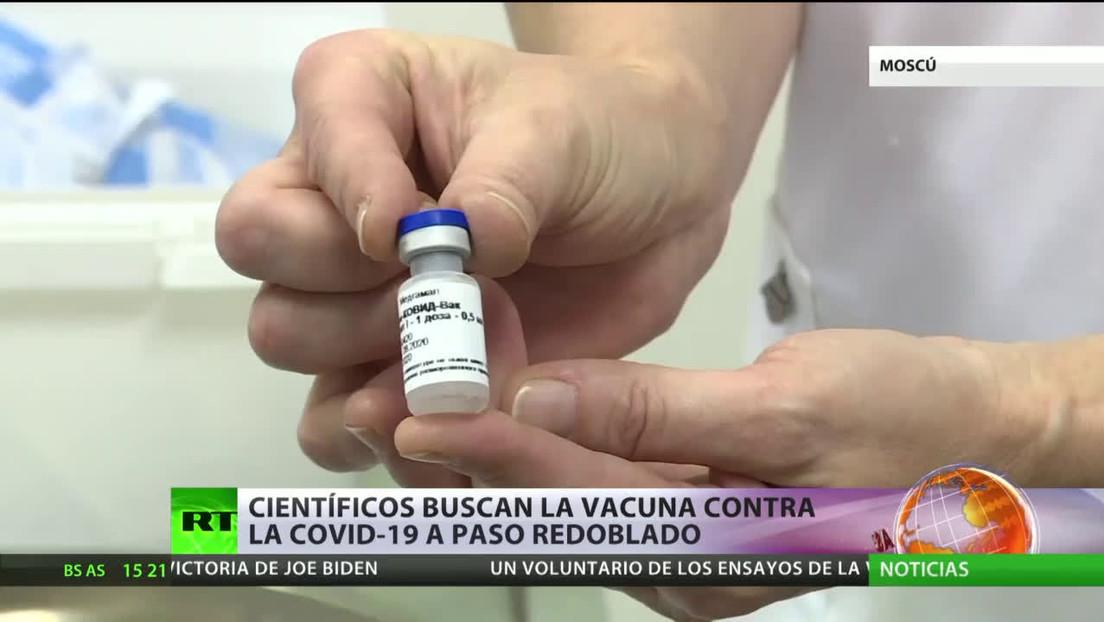 Científicos buscan la vacuna contra el covid-19 a paso redoblado