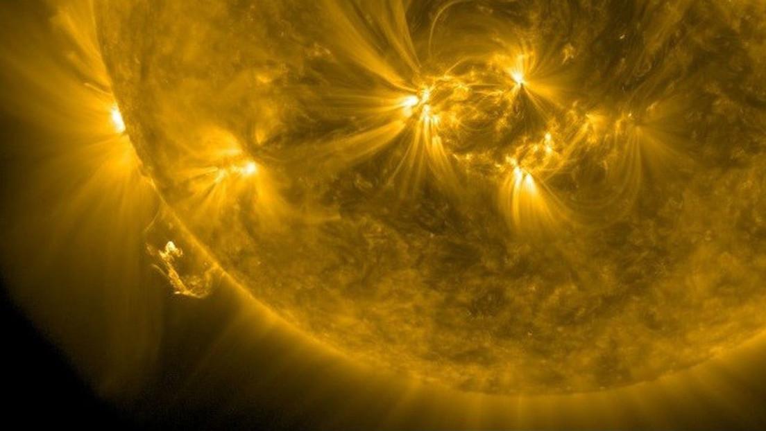 Registran la erupción más potente del Sol de los últimos 3 años