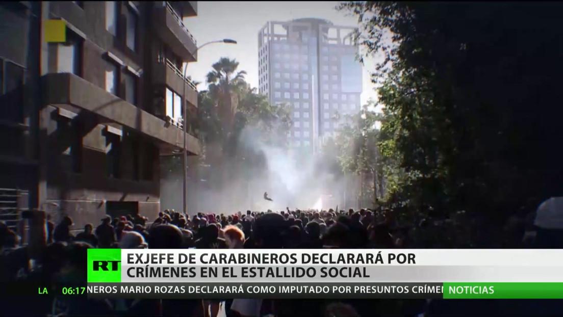 Chile: El exjefe de Carabineros declara por los crímenes durante el estallido social