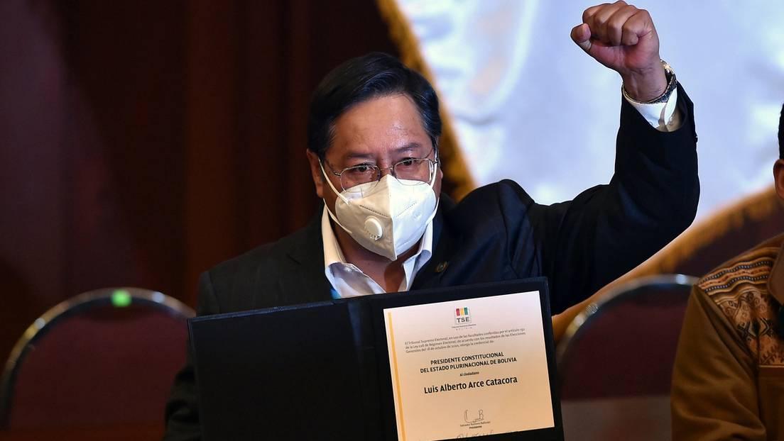 Luis Arce asume la Presidencia de Bolivia a un año del golpe de Estado contra Evo Morales