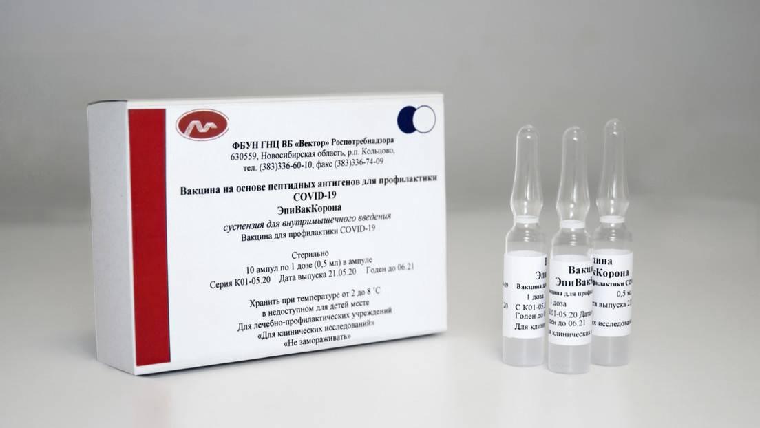 Los creadores de la vacuna rusa del centro Véktor afirman que garantiza la inmunidad frente al covid-19 en un mes