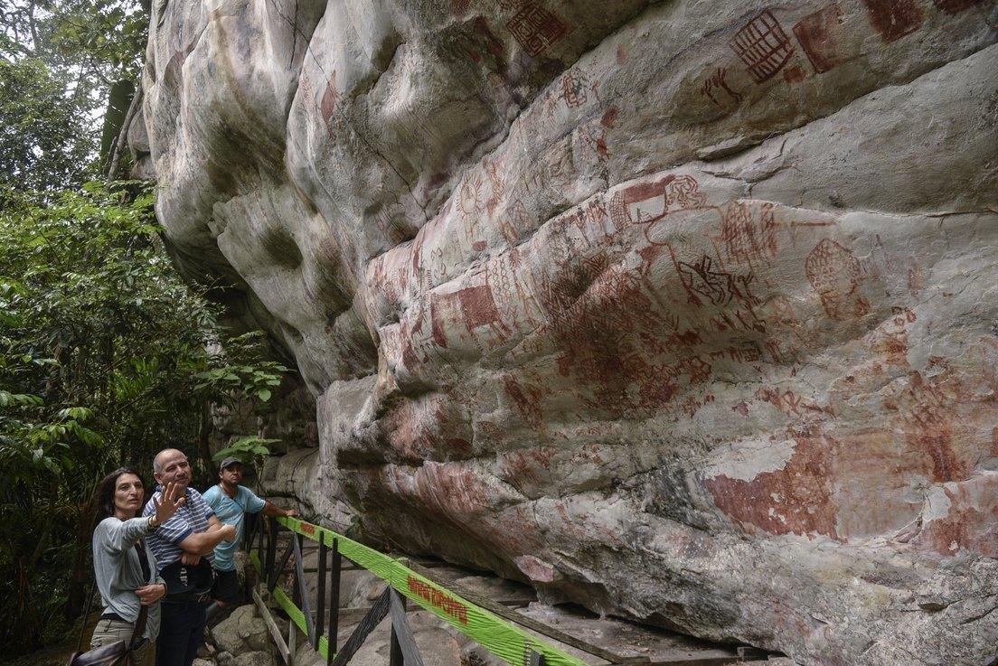 FOTOS: Descubren la 'Capilla Sixtina de los antiguos' en la selva amazónica de Colombia - RT