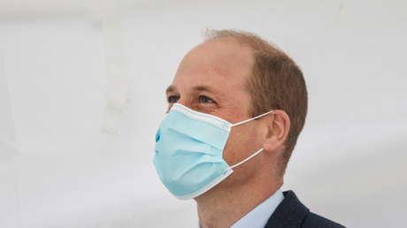 """Reportan que el príncipe Guillermo superó en secreto el coronavirus y que """"tuvo problemas para respirar"""""""