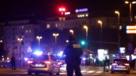 Detienen a uno de los sospechosos del tiroteo en el centro de Viena
