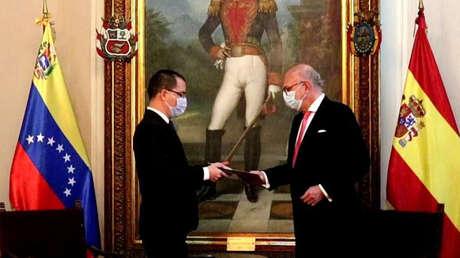 Arreaza acredita a Juan Trigo como nuevo Encargado de negocios de España en Venezuela