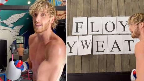 Logan Paul cree que Floyd Mayweather no firma el contrato para pelear porque no sabe deletrear su propio nombre