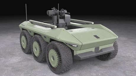 Hyundai suministrará los primeros vehículos de combate polivalentes por control remoto a Corea del Sur