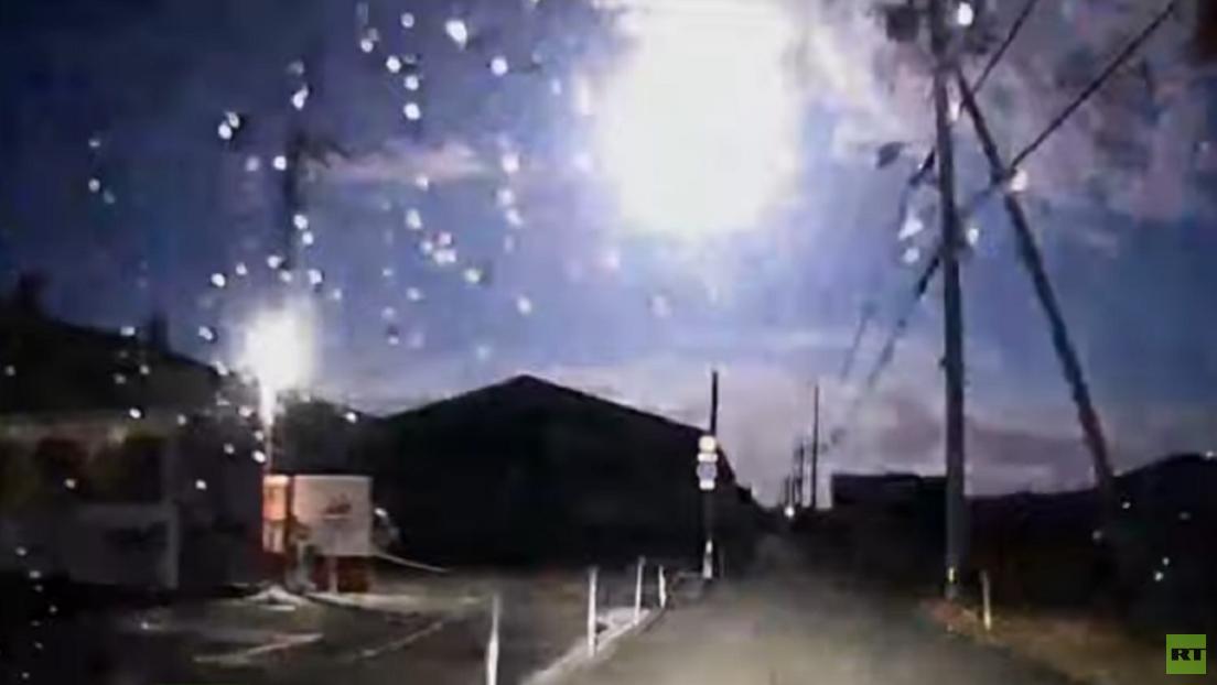 VIDEOS: Un meteorito ilumina el cielo nocturno de Japón con la intensidad de la luna llena