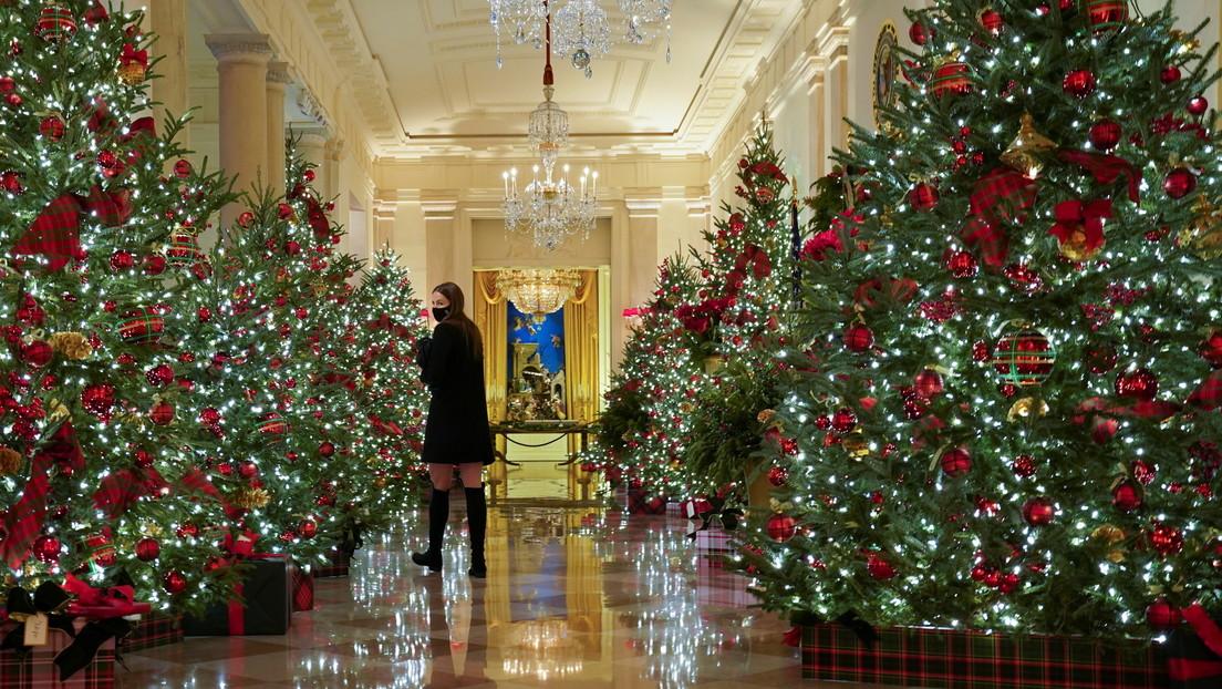 """""""¿A quién le importa un carajo?"""": La Red recuerda un audio filtrado de Melania Trump, luego que revelara las decoraciones navideñas de la Casa Blanca"""