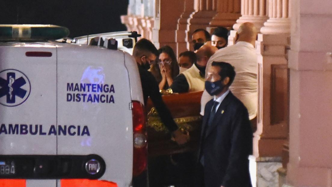 Buscarán tóxicos en el cuerpo de Maradona y analizarán su corazón, que pesaba el doble de lo normal