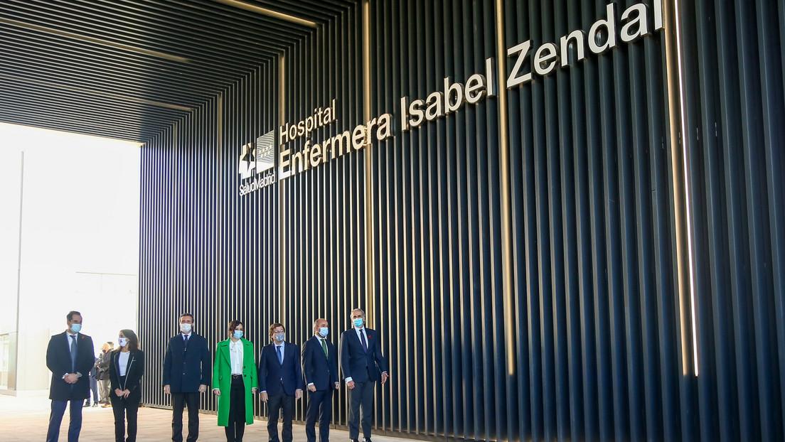 ¿Un acto de propaganda? Inauguran el 'hospital de pandemias' de Madrid sin quirófanos, sin personal sanitario y sin concluir las obras