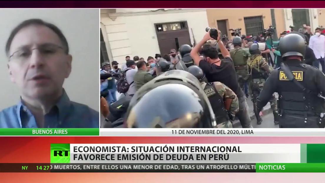 """Experto: El bono centenario de Perú """"ha aprovechado un buen momento para ese tipo de emisiones"""""""